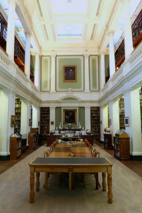 The main reading room.