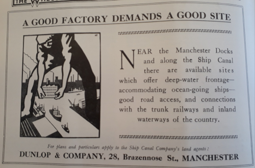 Advert in the Petroleum Times, 4th February 1933.