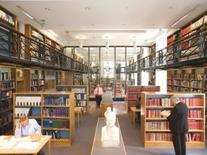 Image of the Royal Society of Medicine Library